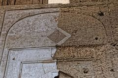 Интерьер мечети Isfahan старый Стоковое Изображение RF