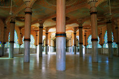 Интерьер мечети Touba, Сенегала стоковое фото