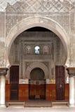 Интерьер морокканской мечети. Стоковые Изображения