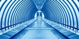 интерьер моста никто путь Стоковое Фото