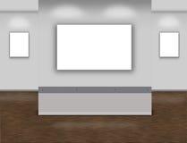 Интерьер музея иллюстрация вектора