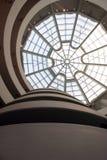 Интерьер музея Guggenheim Стоковые Фото