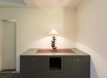 Интерьер, настольная лампа Стоковые Фото