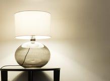 Интерьер, настольная лампа Стоковое Фото