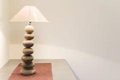Интерьер, настольная лампа Стоковая Фотография