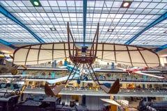 Интерьер национального технического музея в Праге На над 100 лет обширный co Стоковые Фото