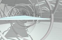 Интерьер национального центра для акватических Олимпийских Игр стоковая фотография
