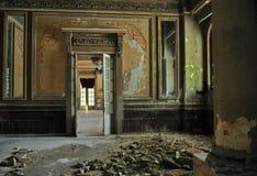 Интерьер на старом здании казино истории стоковые фотографии rf