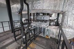 Интерьер новая лаборатория для исследования месторождений нефти сланца Стоковые Изображения