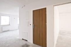 Интерьер новой квартиры, этапа разработчика Стоковые Изображения