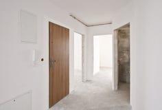 Интерьер новой квартиры, этапа разработчика Стоковое Изображение RF