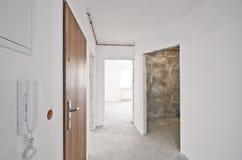 Интерьер новой квартиры, этапа разработчика Стоковые Фотографии RF