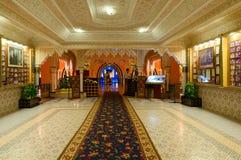 Интерьер ночи 1001 комплекса покупок и развлечений Alf Leila Wa Leila, Sharm El Sheikh, Египта Стоковые Изображения