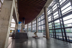 Интерьер 24-ое мая 2017 музея керамики Yingge в новом Ci Тайбэя Стоковое Изображение
