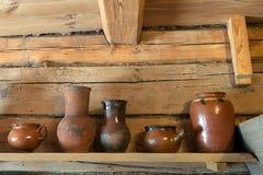 Интерьер дома в деревне Стоковое Фото