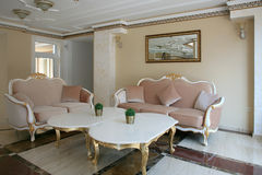 Интерьер офиса стиля барокко Стоковые Изображения RF