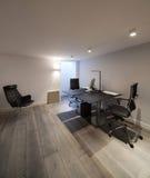 Интерьер, офис с дизайном мебели Стоковая Фотография RF