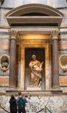 Интерьер пантеона Рима стоковая фотография rf