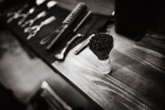 интерьер парикмахерской винтажный Стоковые Изображения