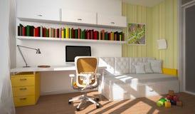 Интерьер перевода дето-комнаты 3D Стоковые Изображения RF