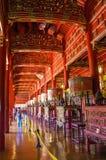 Интерьер повешенный к виску Mieu воскресения внутри цитадели Город оттенка имперский, Вьетнам стоковое фото rf