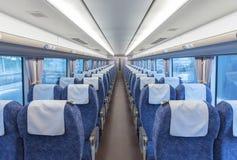 Интерьер поезда стоковое фото rf