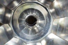 Интерьер пустого бака кофе верхней части плиты Стоковые Фотографии RF