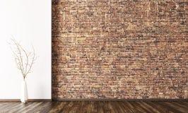 Интерьер пустой предпосылки 3d комнаты представляет Стоковое Изображение RF