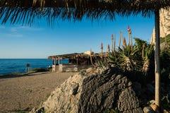 Интерьер пляжа House Стоковое Фото