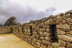 Интерьер района двора в Machu Picchu стоковое изображение