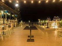 Интерьер ресторана в курорте Стоковое Фото