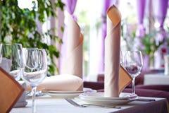 Интерьер ресторана Стоковое Изображение RF