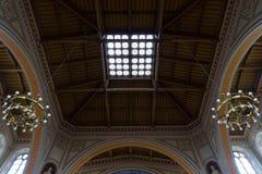 Интерьер римско-католической церков St Peter и St Paul. Стоковое фото RF