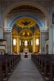Интерьер римско-католической церков St Peter и St Paul. Стоковая Фотография RF