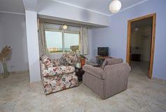 Интерьер роскошной квартиры Стоковое фото RF