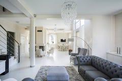 Интерьер роскошной квартиры Стоковая Фотография