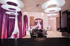 Интерьер роскошной резиденции Стоковая Фотография