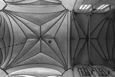 Интерьер Росток церков St Mary Стоковые Фото