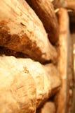 Интерьер русской деревянной сауны Стоковые Изображения RF