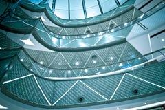 Интерьер самомоднейшее архитектурноакустического Стоковое фото RF