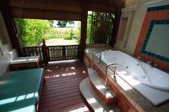 Интерьер санузла, wc, toilette, ванной комнаты, туалета, уборного Стоковая Фотография RF