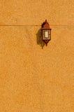 Интерьер светильника год сбора винограда с космосом экземпляра стоковая фотография