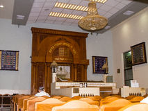 Интерьер синагоги Kipusit в Тель-Авив Израиль Стоковая Фотография RF