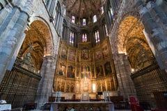 Интерьер собора Авила, Испании Стоковые Фото