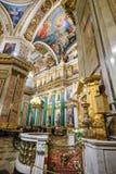 Интерьер собора Исаак Святого Стоковые Фотографии RF