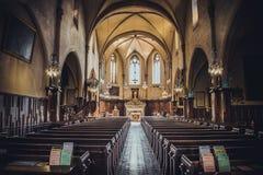 Интерьер собора Франции Канн стоковое фото