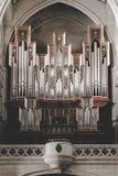 Интерьер собора Almudena в Мадриде стоковое фото