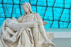 Интерьер собора Brasilia стоковое фото
