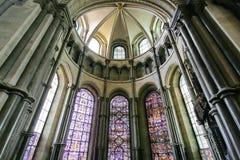 интерьер собора canterbury Стоковые Изображения RF