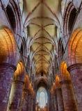 Интерьер собора St Магнуса, Kirkwall, Шотландии стоковое изображение